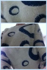 Mon pull peluche ;)