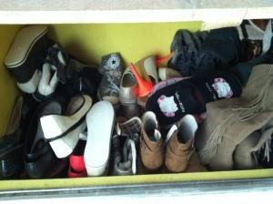Shoes addict ? Moi non pas du tout (grrrr)