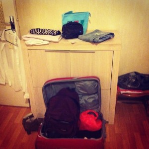 Valise sous pression oups !!!!